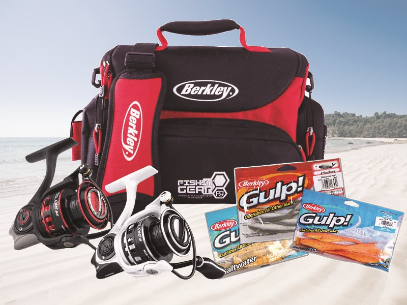 Berkley and Abu Garcia Fishing Pack